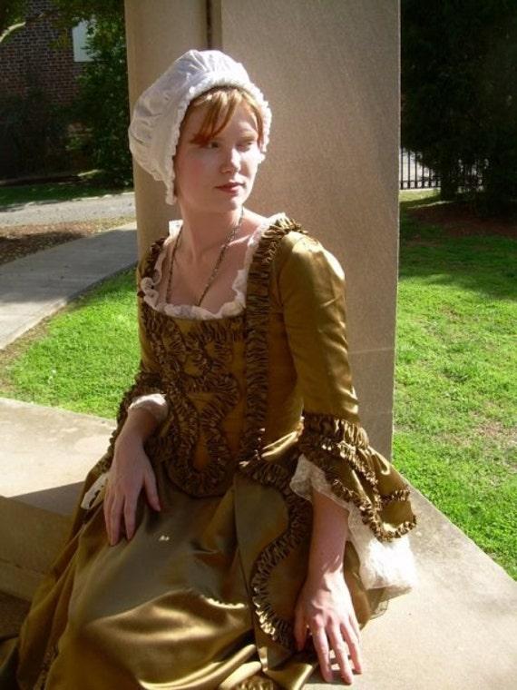 Marie Antoinette Gown 18th Century Watteau Court Dress custom order