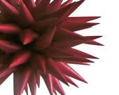Handmade Harvest Decoration Pinot Noir Paper Star Urchin Ornament - 4 inch