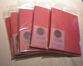 Set of 4 pks cards and envelopes