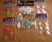 Holiday Sticker Lot