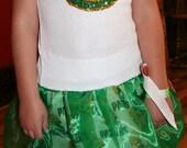 Girls Green Bay Packer Sparkle Dress