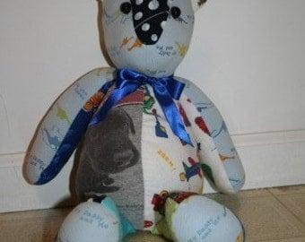 Custom Baby Clothes Bear