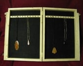 Craft show display necklace  box