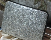 Silver Sparkles - Vintage 1950s Hair Pin
