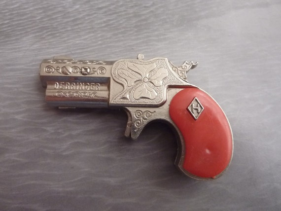 Antique Hubley Derringer Cap Gun