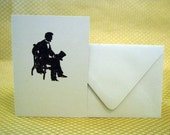Abe Sitting Card