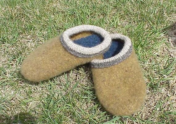 Wool Sweater Felt Slipper Pattern 38