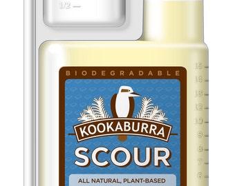 Kookaburra Scour for washing Raw Wool- 16 ounces