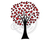 Valentine Tree clipart