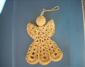 Hanging Crochet Angel