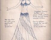 Suzanna's Swirl Skirt Pattern by Jehlor  (Vintage)