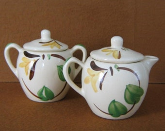 Sweet Cream and Sugar Set