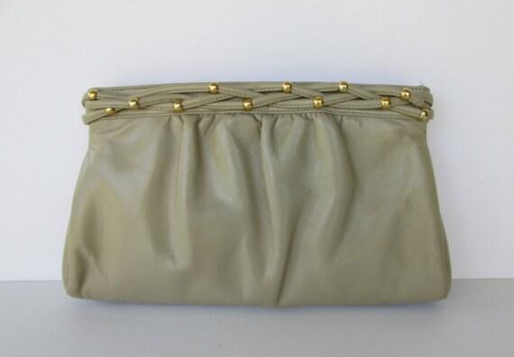 Morris Moskowitz Leather Bag