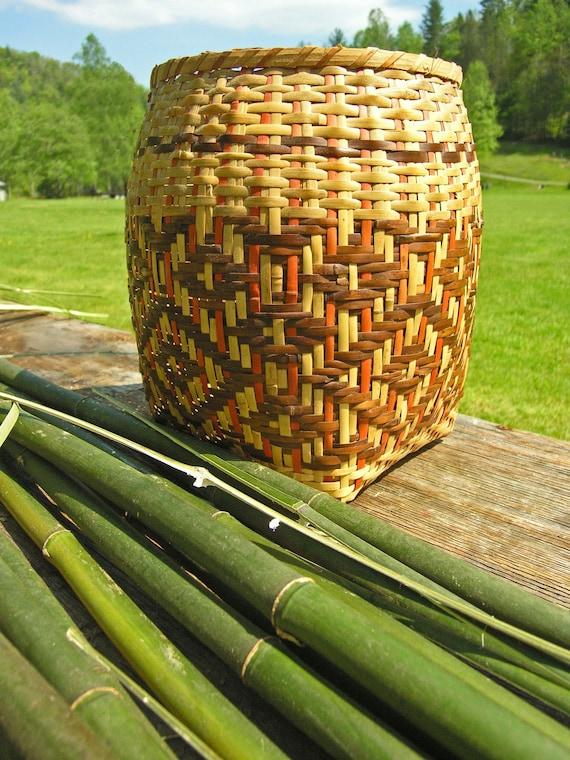 Fine Art Photography, Cherokee Basket Weaving Image, Matted Photography, Native Style Decor, Home Decor, Cabin Decor, Mountain Decor