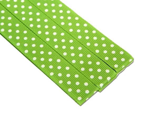 Pattern Place Keeper - Magnet Bookmark - Knitting Crochet - 3 Green Polka Dot