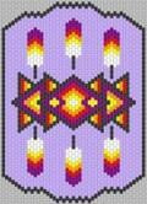 Native American Peyote Beading Patterns http://www.etsy.com/listing/69384797/peyote-beadwork-pattern-native-american