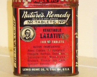 Small Nature's Remedy tin
