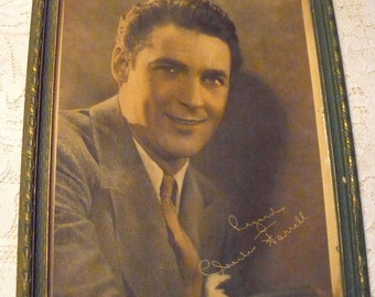 Silent Movie era Actor - Charles Farrell -  framed picture