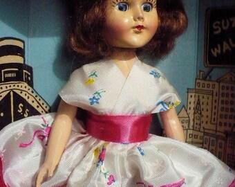 """7.5"""" tall - Suzy Walker Doll - 1964"""