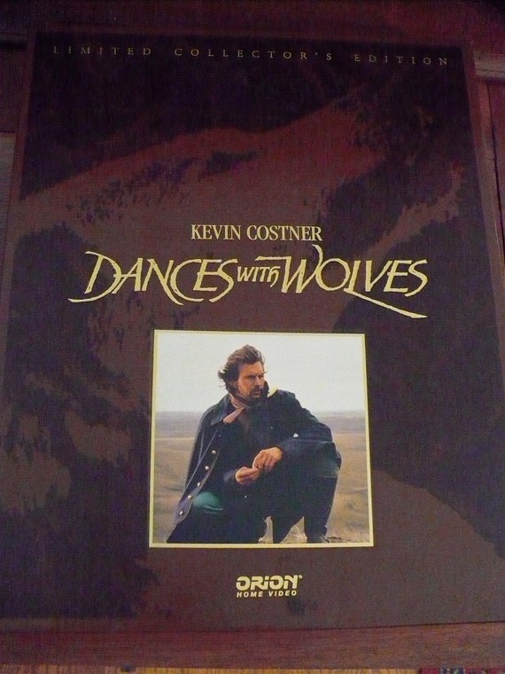 Dances With Wolves - VHS Movies, Book, Prints - Collectors Edition - FREE SHIPPING