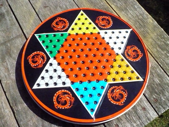 Chinese Checkers Metal Game