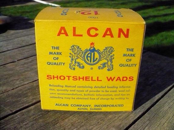 Alcan Shotshell Wads Box