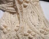 Instant Download pdf Hand Knitting Pattern - Bob Scarf