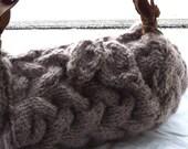 Knitting Pattern - The Bark Bag PDF Instant Download