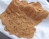 Twisted Leaves Scarf Knitting Pattern Collection 8 scarf patterns