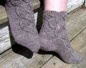 Leafing Around 2 Needle Socks PDF Pattern
