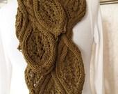 Knitting Pattern -Oats Scarf