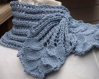 Knitting Pattern - Hyacinth Scarf