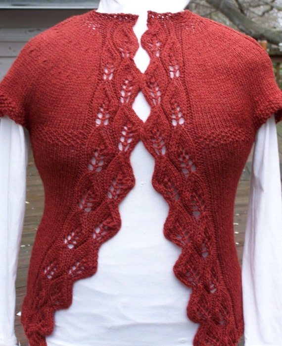 Knitting Sweater Pattern Barb Wire