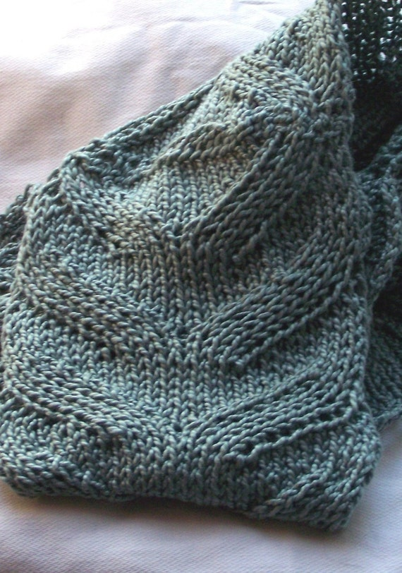 Knitting Pattern Spring Scarf : Scarf Knitting Pattern - Spring Flora from KnitChicGrace on Etsy Studio