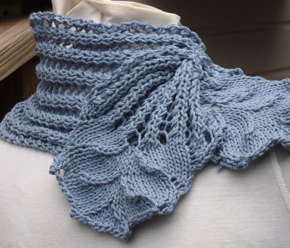 Knitting Pattern - Hyacinth Scarf
