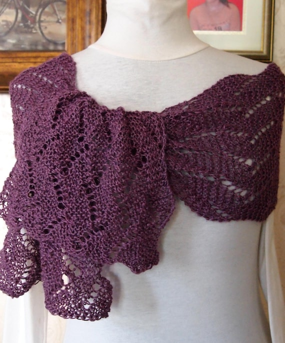 Knitting Patterns Wave Scarf : 301 Moved Permanently