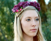 Boho Princess - Flower Crown - Bridal Headband