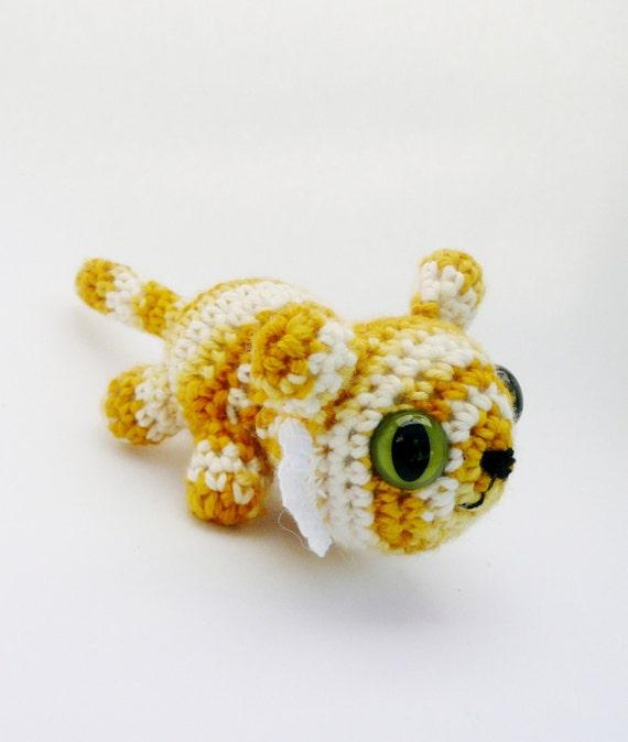 Tiger Amigurumi Plush Doll