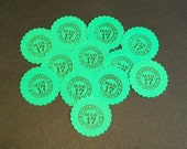 St. Patrick's Day Stickers... envelope seals... packaging... shop supplies... embellishments
