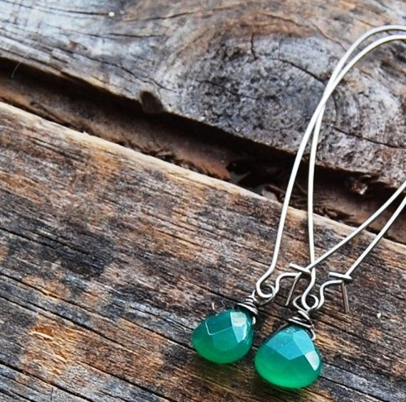 green quartz drops