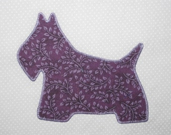 Adorable Scottie dog quilt blocks