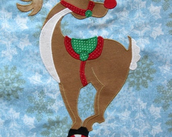Reindeer quilt blocks