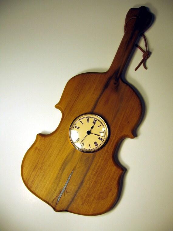 Violin - Fiddle - Cello Clock