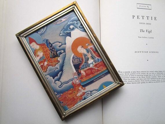 Vintage Framed Tibetan Art