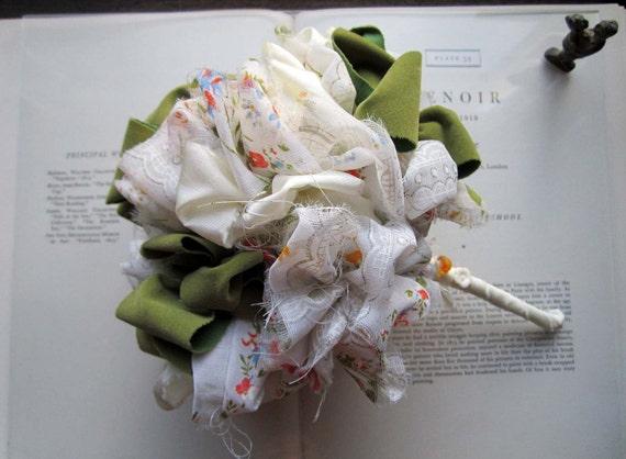 Vintage Fabric Accessory Bouquet