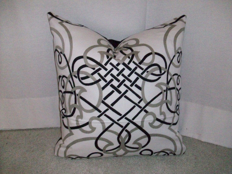 Calligraphy Strokes Pillow Cover