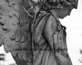 Angel Statue 5 x 7 fine art photography