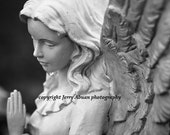 Praying Angel 5 x 7 fine art photography