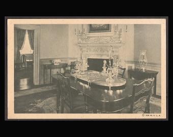 Mount Vernon 2 Vintage black and white Postcards 1940's  Antique