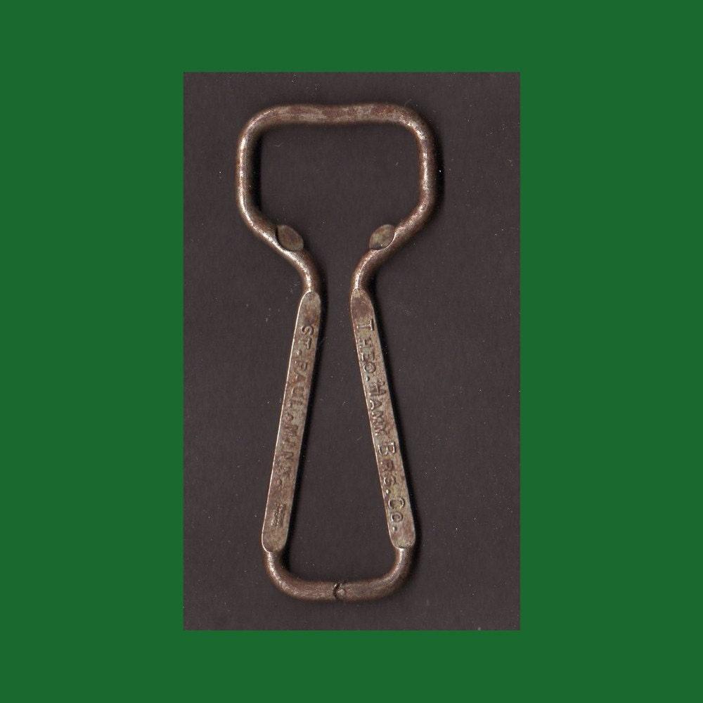 vintage bottle opener church key hamms smooth mellow beer. Black Bedroom Furniture Sets. Home Design Ideas